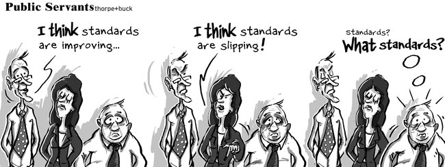 Public Servants cartoon strip by David Thorpe and Matt Buck