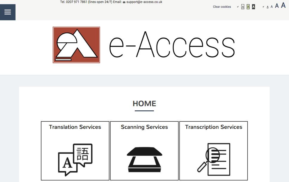 e-access website