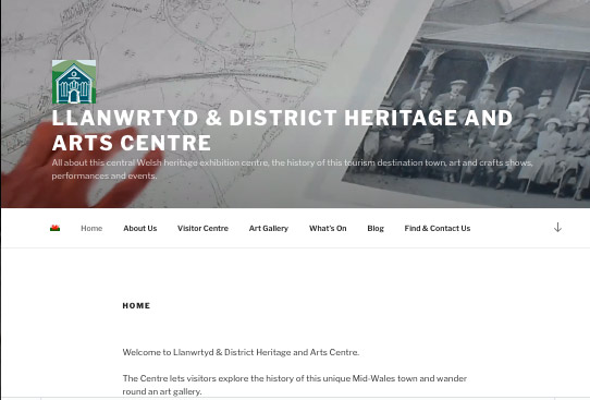Llanwrtyd ells History and Arts Centre Website