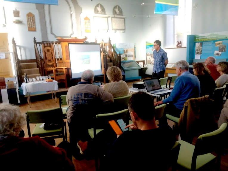 Launch of the Llanwrtyd.com website at the Arts and Heritage Centre